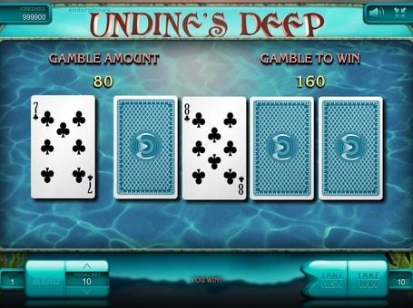 Ризик гра в апарате Undine's Deep