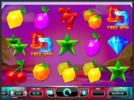 Випадання додаткових обертань в ігровому автоматі Doubles