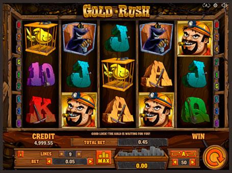 Символи в ігровому автоматі Gold Rush