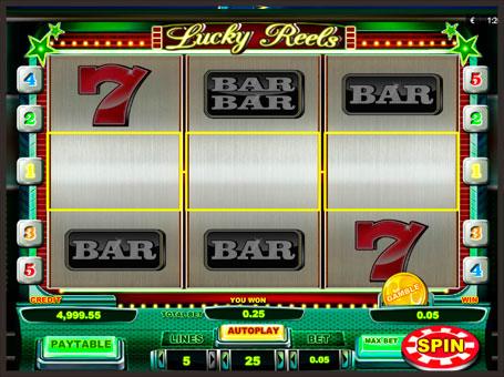 Барабани в ігровому онлайн апараті Lucky Reels