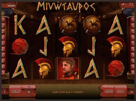 Символи ігрового автомата Minotaurus