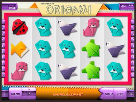 Символи в онлайн слоті Origami