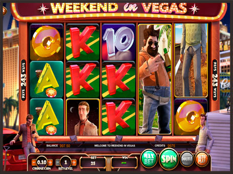 Символи слота Weekend in Vegas