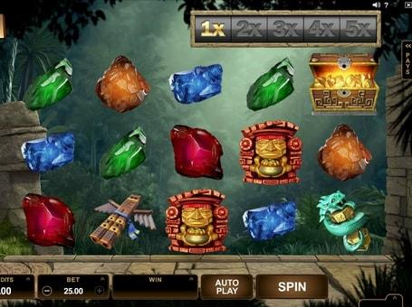 Символи в грі Jungle Jim El Dorado