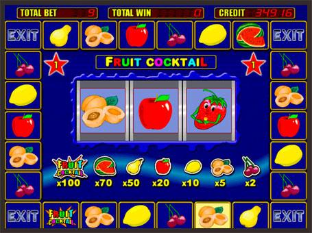 Бонус раунд в автоматі Fruit Cocktail