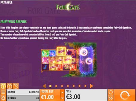 Правила респинів в грі Fairy Gate