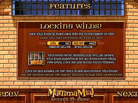 Wild грі Mamma Mia