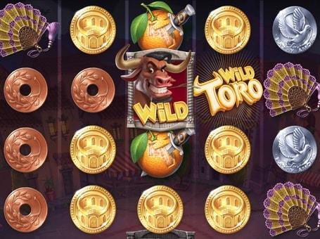 Дикі символи в ігровому автоматі Wild Toro