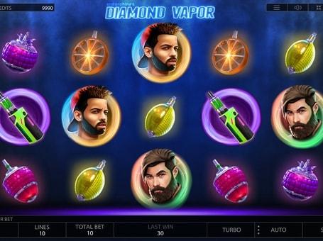 Символи в ігровому автоматі Diamond Vapor