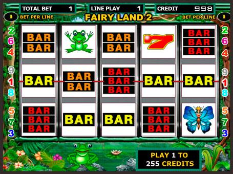 Виграшні BAR символи автомата Fairy Land 2