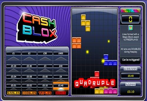 Призова комбінація в ігровому автоматі Cash Blox