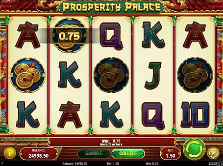 Призова комбінація в ігровому автоматі Prosperity Palace