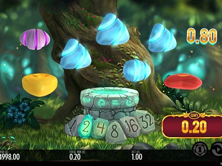 Призова комбінація символів в ігровому автоматі Well of Wonders