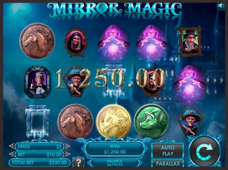 Виграшна комбінація в онлайн слоті Mirror Magic