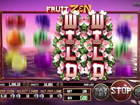 Дикий знак в онлайн слоті Fruit Zen