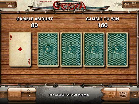 Ризик-гра в онлайн слоті Geisha