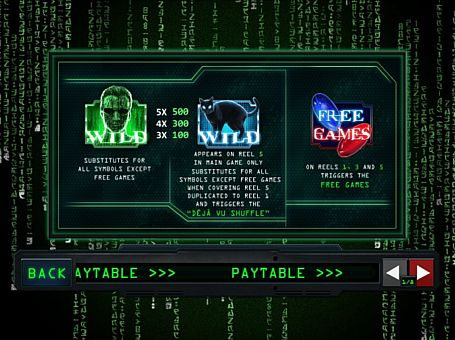 Wild в онлайн слоті Matrix