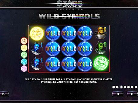 Wild в онлайн слоті Stars Awakening