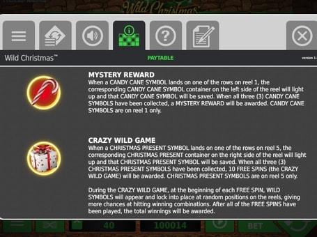 Ігровий бонус в онлайн слоті Wild Christmas