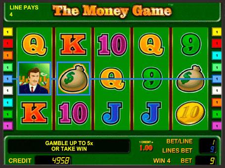 Виграш по лінії в слоті The Money Game