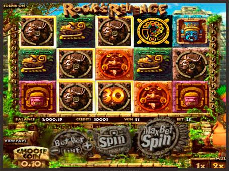 Символи ігрового автомата Rook`s Revenge