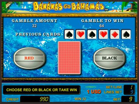 Ризик гра в Bananas go Bahamas