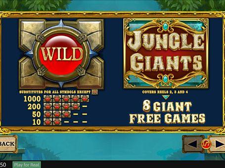 Scatter в слоті Jungle Giants