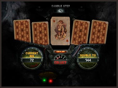 Ризик гра в автоматі Battle Tanks