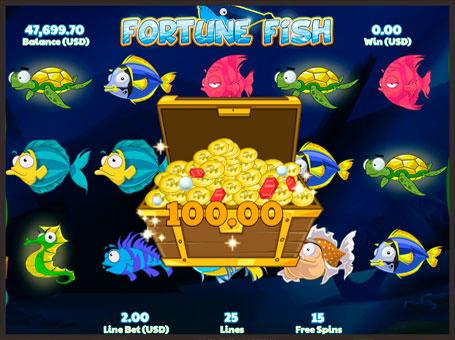 Виграш в ігровому автоматі Fortune Fish