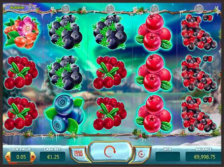 Символи ігрового апарату Winterberries