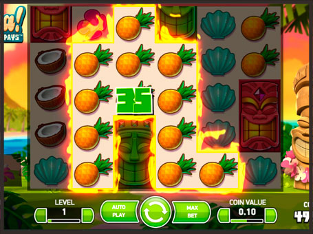 Виграш в онлайн автоматі Aloha